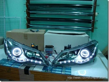 Civic Audi Headlamp