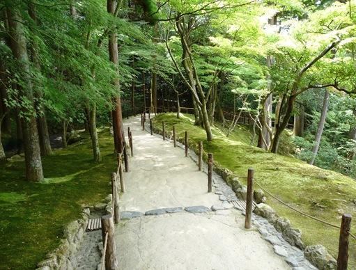 17. ginkakuji caminho