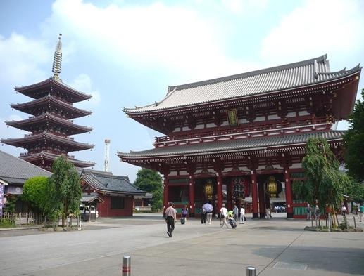 asakusa - sensoji templo