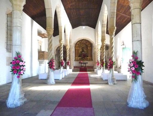 interior da Igreja Santa Maria de Alcáçova