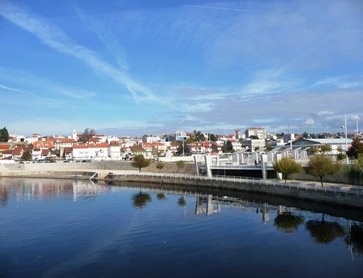 agueda - a cidade vista do rio