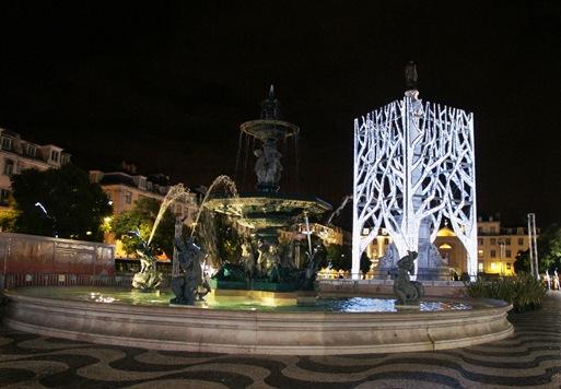Baixa - Praça do Rossio-  Lisboa - 1