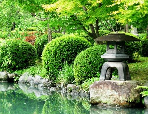13.templo Toji - jardim - lago - candeeiro de pedra