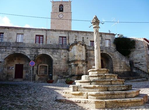 Castelo Novo - Praça dos antigos paços do concelho