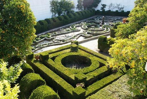 Castelo Branco - Jardim do Paço Episcopal - jardim alagado 1