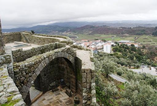 Belmonte - vista a partir da muralha do castelo 4