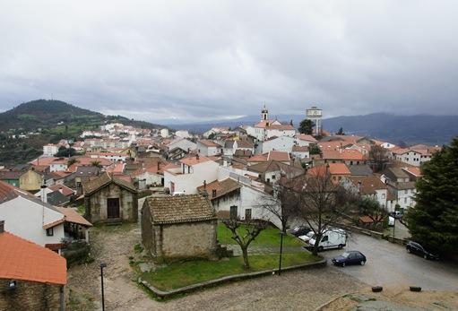 Belmonte - vista a partir da muralha do castelo 1
