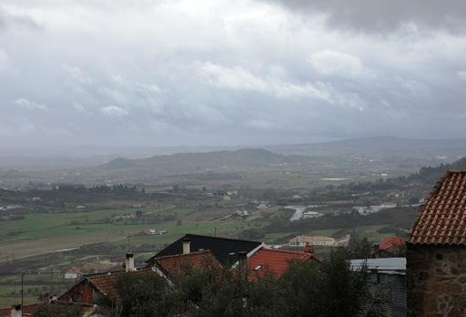 Belmonte - vista da entrada do castelo