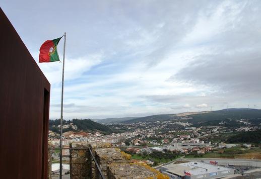 Pombal - vista da cidade a partir da torre de menagem do castelo 1