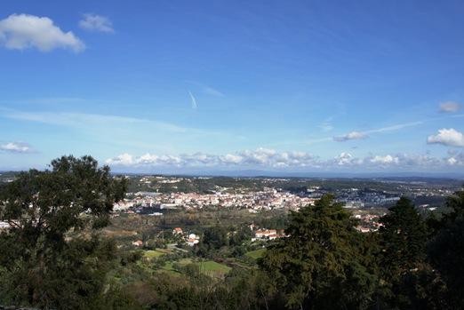 Ourem - vista da cidade