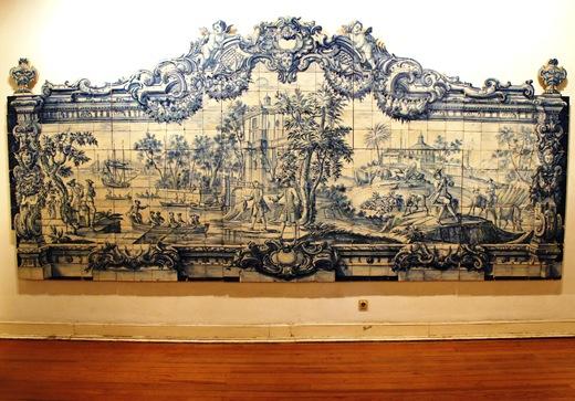 museu do azulejo - cena marítima e campestre
