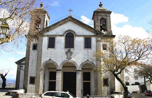 Ourem - Castelo - igreja matriz