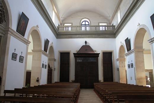 Ourem - Castelo - interior da igreja matriz