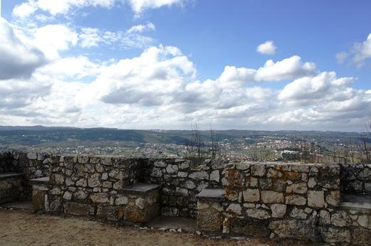Ourem - Castelo- vista do miradouro de Fátima
