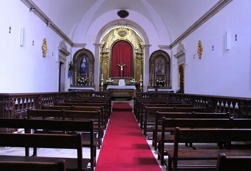 Alcobaça - igreja da misericórdia- interior