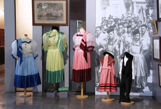 Alcobaça - museu raul da bernarda - trajes do rancho do alcoa 3