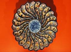 Alcobaça - museu bernarda - prato decorativo de parede 3