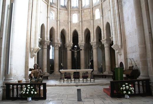 Mosteiro de Alcobaça - Igreja - altar