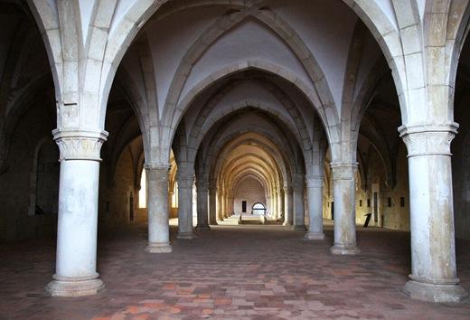 Mosteiro de Alcobaça - dormitório