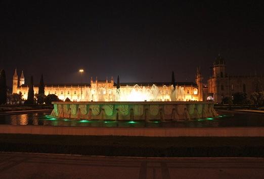 mosteiro dos Jeronimos - noite 1