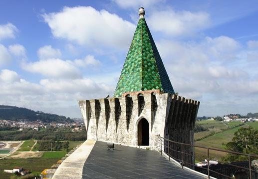 Porto de Mós - Castelo - torre 1