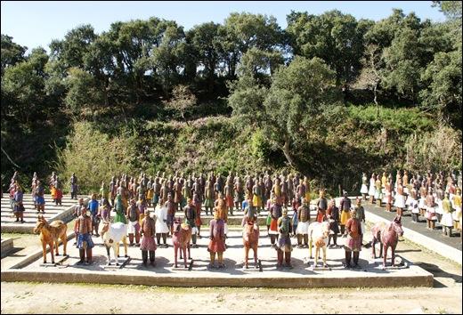 Buddha Eden - exercito em terracotta 8