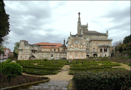 Buçaco - jardim do palácio 17