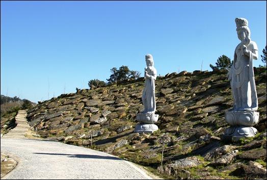 Buddha Eden - estatuas