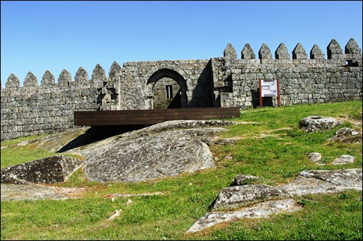 9.Trancoso -  castelo medieval - capela de sta barbara