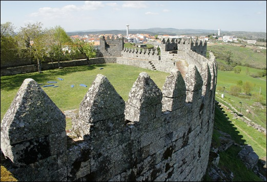 9.Trancoso -  castelo medieval - muralha 2