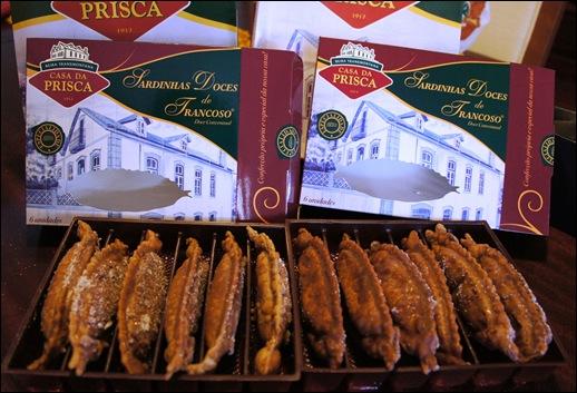 1.Trancoso -  doce conventual - sardinhas doces