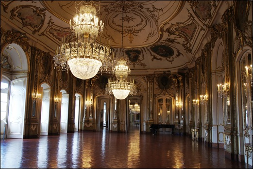 Palacio de Queluz - Sala do Trono