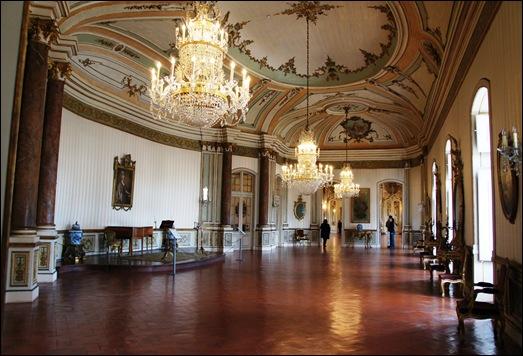Palacio de Queluz - Sala da musica 11
