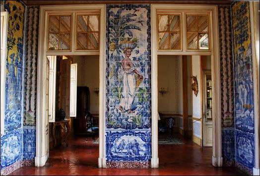 Palacio de Queluz - Sala dos azulejos.1
