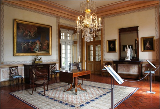 Palacio de Queluz - Sala dos particulares