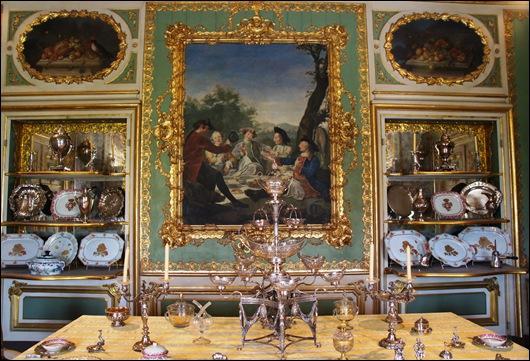 Palacio de Queluz - Sala da merenda.1