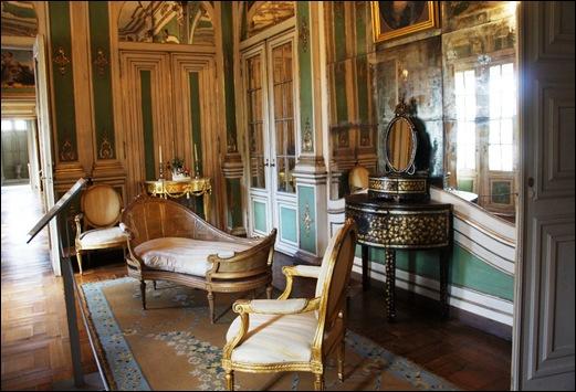 Palacio de Queluz - quarto da princesa d. carlota joaquina 1