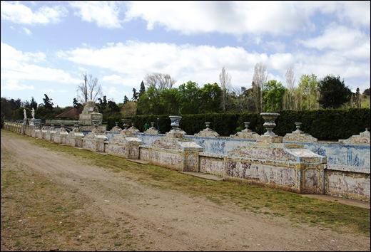 Palácio de Queluz - canal de azulejos 5
