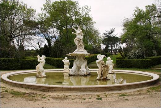 Palácio de Queluz - lago Neptuno