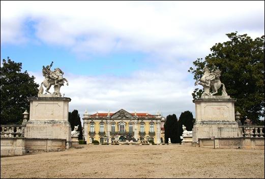 Palácio de Queluz - pórtico da fama