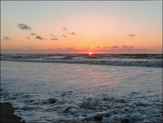 Praia de Mira - por do sol