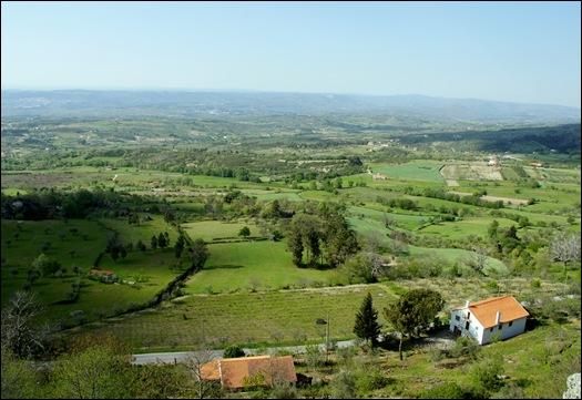 Linhares - castelo -paisagem ao redor