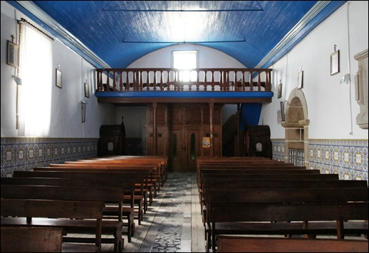 Glória Ishizaka - Vila do Touro - igreja matriz interior