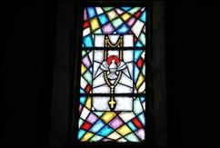 Sabugal - Glória Ishizaka - igreja de são joão - interior - vitral