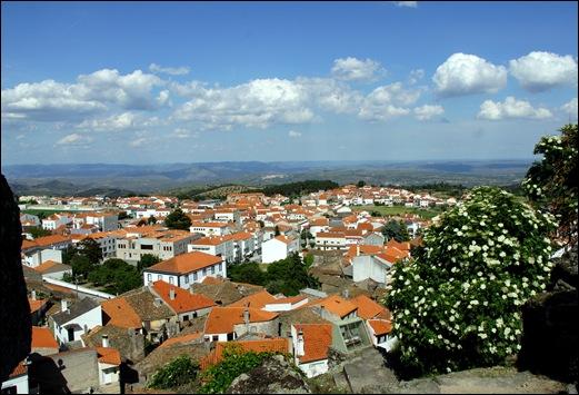 Mêda - Glória Ishizaka - vista de Mêda a partir da torre do relógio 1