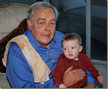 Grandpa and Kyle Christmas 2010