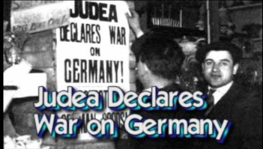 Zionisten erklären Deutschland den Krieg