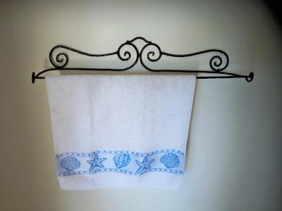 porte serviette torchon fer forg marocain salle de bain cuisine decoration ebay. Black Bedroom Furniture Sets. Home Design Ideas