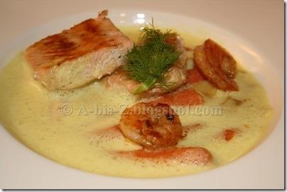Fisch mit Fenchelsoße  (15)