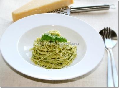 Pasta mit Pesto a (30)